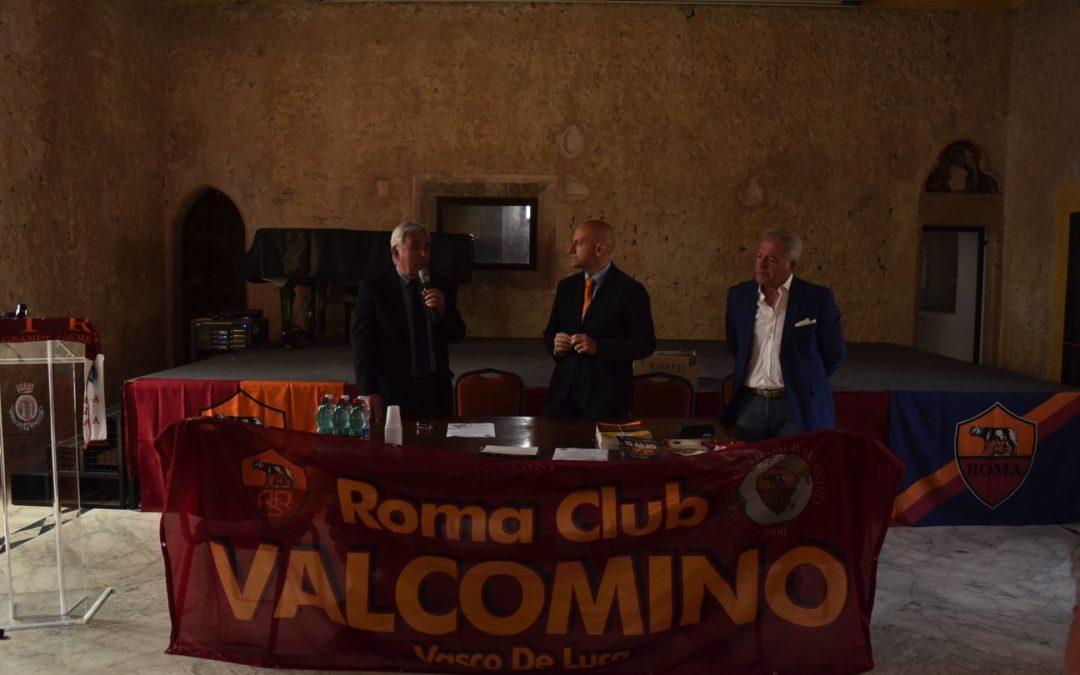 """EVENTO ROMA CLUB VAL COMINO """"VASCO DE LUCA"""""""